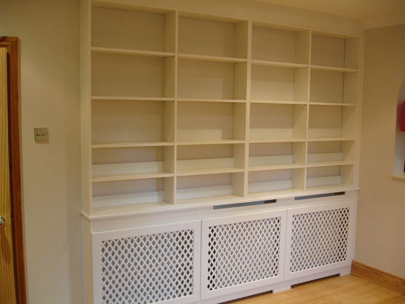 Bookcases Radiator Cover With Widely Used 31 Model Radiator Bookcases Uk (Gallery 6 of 15)