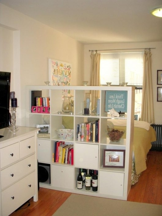 Bookcases Room Dividers In 2018 25 Creative Ideas For Using Bookshelves As Room Dividers (View 3 of 15)