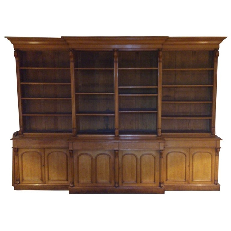 Bookcases With Cupboard Under Inside 2018 Massive Victorian Bookcase For Sale At 1Stdibs (View 14 of 15)