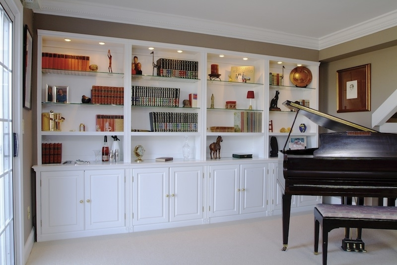 Bookcases With Cupboards For Most Recently Released Custom Cabinets, Bookcases, Built Ins, Bookshelves, Entertainment (View 3 of 15)