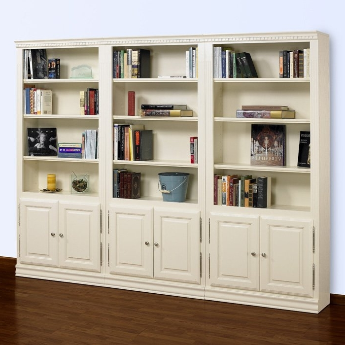 Bookcases With Doors On Bottom In Preferred Tall Wood Storage Cabinets With Doors And Shelves, Bookcase With (View 3 of 15)