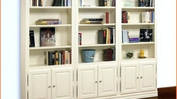Bookcases With Doors On Bottom Wood Foter (View 8 of 15)