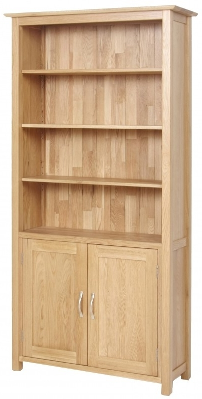 Bookcases With Doors Regarding Preferred Wooden Bookcases With Doors – Foter (View 6 of 15)