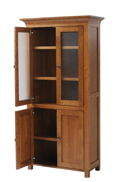 Bookcases With Doors With Regard To Well Liked Coventry Bookcase With Doors Dutch Haus Custom Furniture Intended (View 8 of 15)