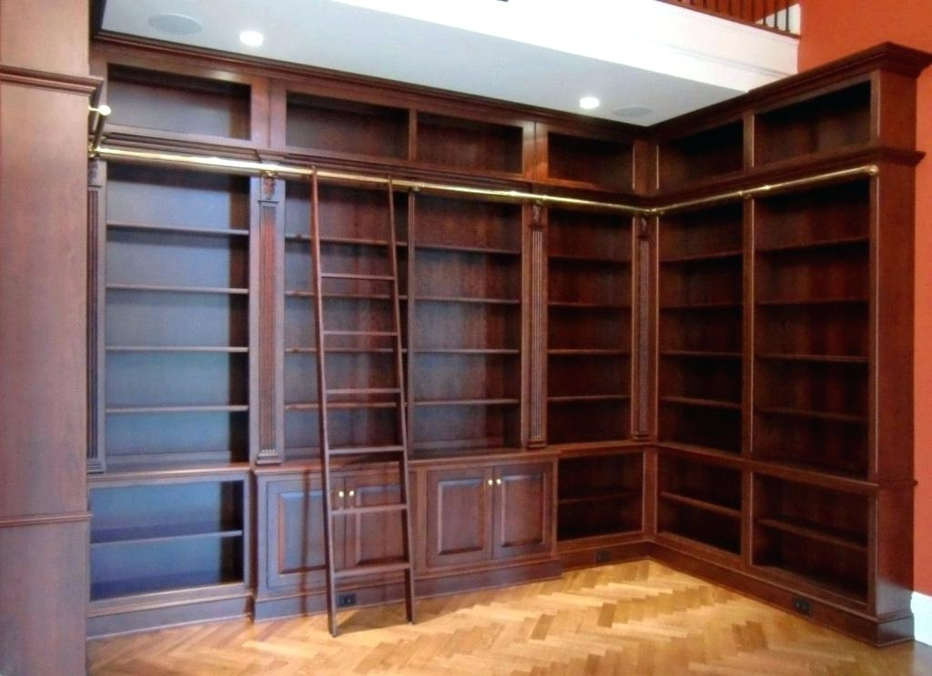 Bookcases With Ladder And Rail With Current Bookcase Ladder And Rail Bookcase With Ladder And Rail Bookcase (View 3 of 15)