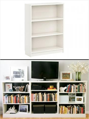 Bookcases With Tv Unit Regarding Latest Billy Bookcase (View 4 of 15)