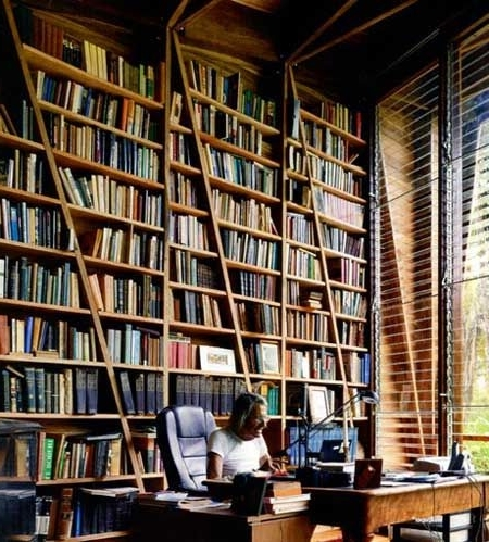Books, Architects And In Huge Bookcases (View 3 of 15)