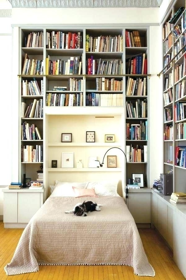 Bookshelf Bed Frame Bookshelf Bed Frame Best Bookcase Ideas On Within Most Current Bed Frame Bookcases (View 14 of 15)