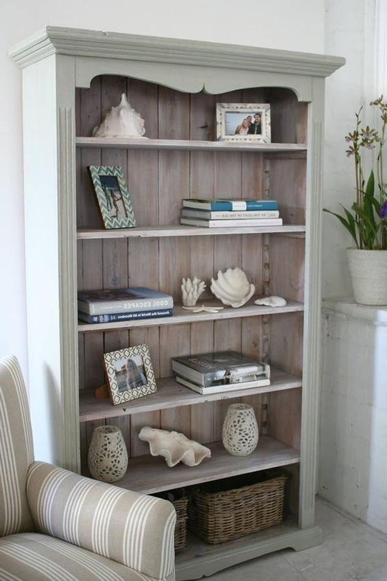 Bookshelf Makeover Regarding Current Painted Wood Bookcases (View 4 of 15)