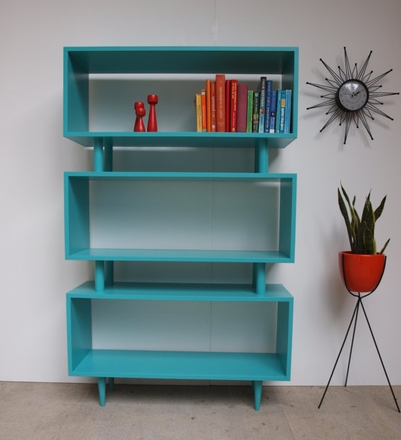 Bookshelf: Marvellous Colored Bookcase Oak Colored Bookcases Throughout Preferred Colored Bookcases (View 4 of 15)