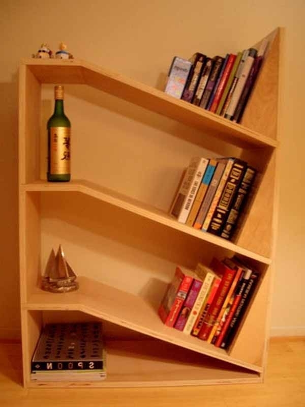 Bookshelves Designs For Home Inside Widely Used Bookcases Ideas: Cool Home Bookcases – 10 Brilliant Bookcase (View 4 of 15)