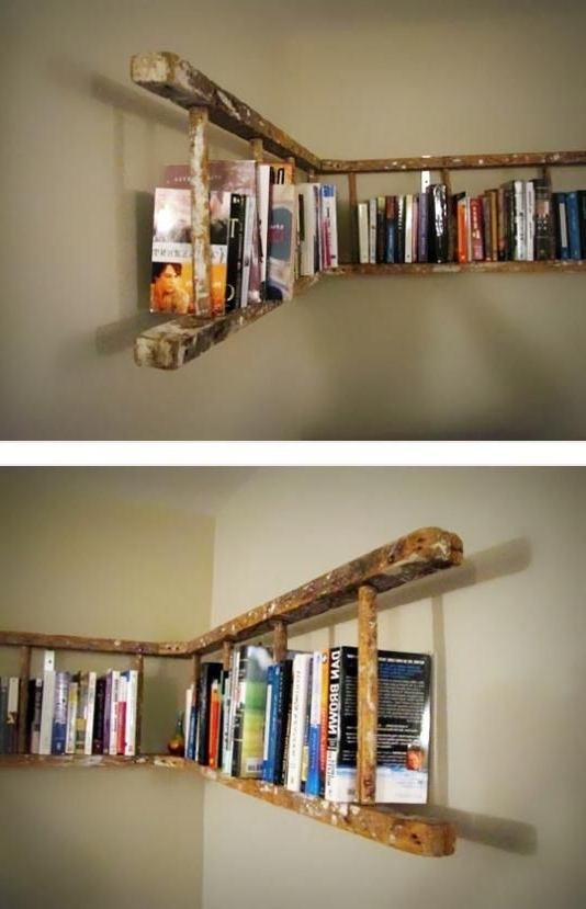 Bookshelves Intended For Most Recently Released 25 Awesome Diy Ideas For Bookshelves (View 3 of 15)