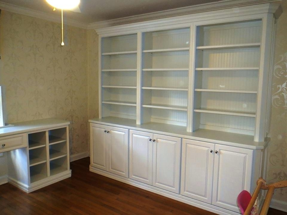 Bookshelves With Cabinet Base For Latest Bookshelf With Cabinet Base – Itsfashion (View 5 of 15)