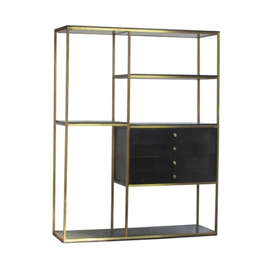 Featured Photo of Brass Bookcases