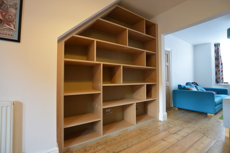Bristol Hand Build Alchove Pertaining To Most Popular Fitted Shelving (View 2 of 15)