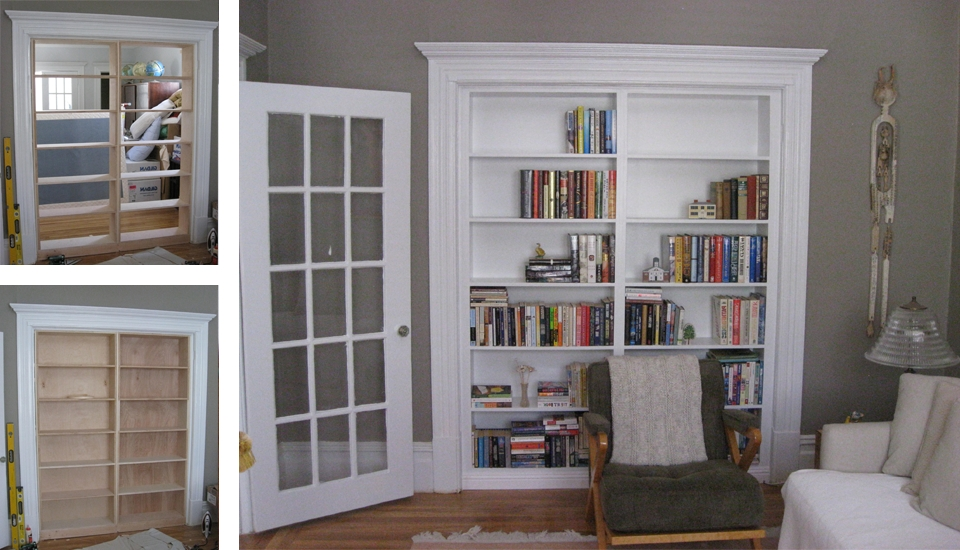 Build Bookcases Wall Intended For Most Up To Date Built In Wall Bookshelves Bookcase Into Wonderfull 3 Best  (View 2 of 15)