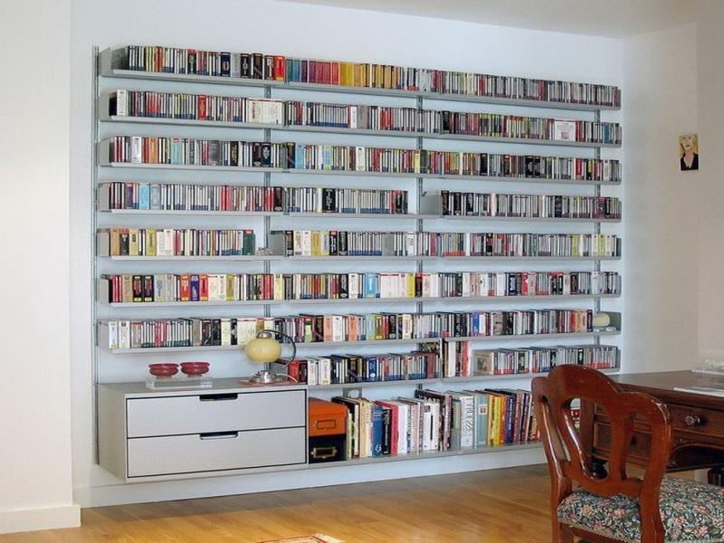 Build Bookcases Wall Regarding Well Liked Wall Shelves Design: Modern Wall Mounted Book Shelving Bookshelves (View 4 of 15)