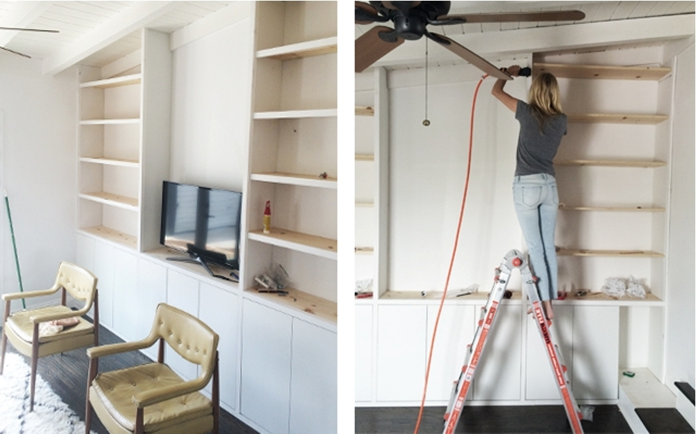 Build Built In Bookcases Throughout Current Diy Built In Bookcase Around Fireplace : Doherty House – Diy Built (View 4 of 15)
