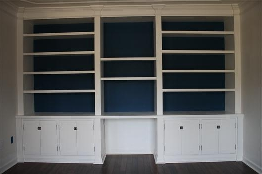 Build Built In Bookcases With Regard To 2018 Building A Built In Bookshelf Wall (View 2 of 15)
