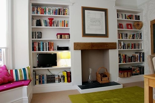 Build Shelves, Shelves And Bedrooms With Fitted Bookcases (View 2 of 15)
