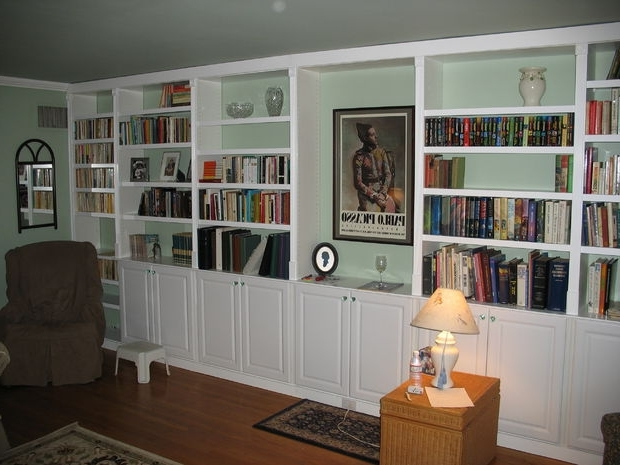 Built In Book Cases: 5 Steps (With Pictures) Regarding Most Current Diy Built In Bookcases (View 1 of 15)