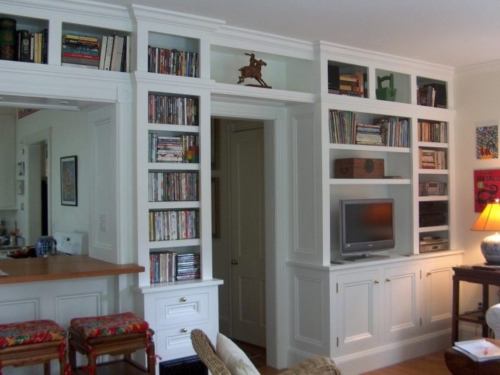 Built In Bookcase Kits Ideas – Home Furniture Ideas Regarding Most Up To Date Built In Bookcases Kits (View 2 of 15)
