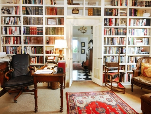 Built In Bookcase Wall With Regard To Favorite Traditional Bookshelves (View 7 of 15)
