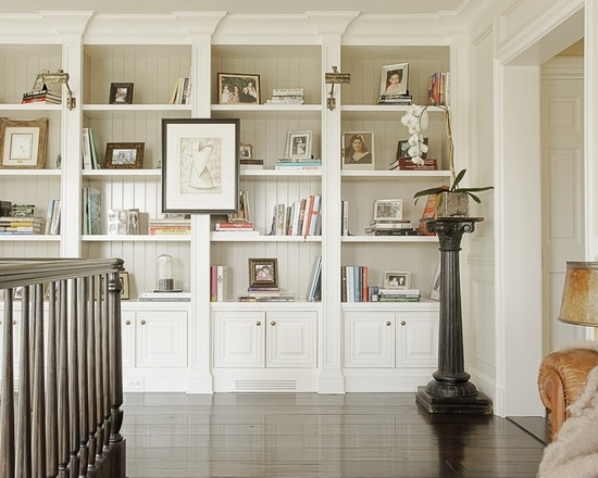 Built In Bookcases, Display, Dark Floors. Http://www (View 4 of 15)