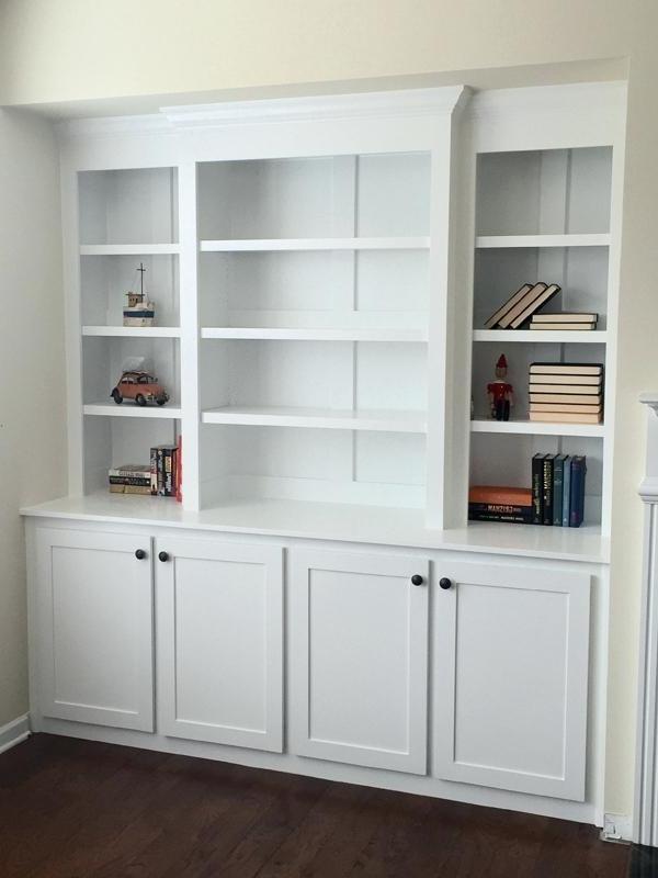 Built In Bookcases Kits Regarding Most Popular Brilliant Ideas Of Built In Bookcase Kit Bookcases Bookshelf Kits (View 7 of 15)