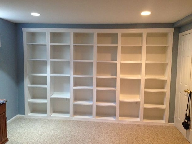 Built In Bookcases With Regard To Newest Built In Bookcases: 5 Steps (View 6 of 15)