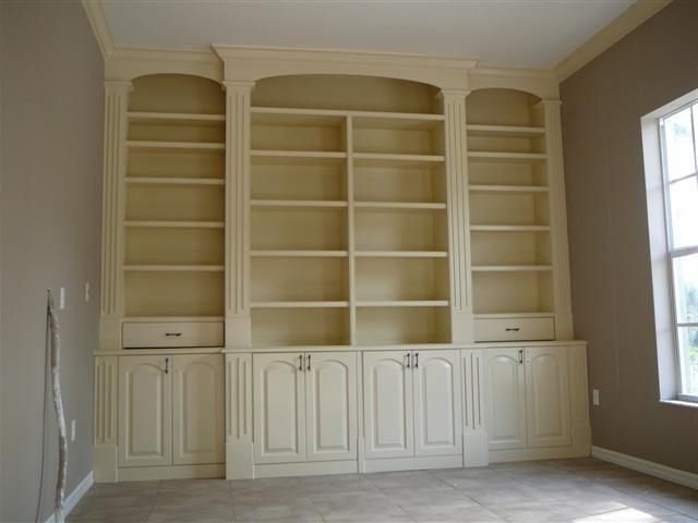 Built In Cupboard Shelving Intended For Current Pricing A Nice Built In Cabinet (View 3 of 15)
