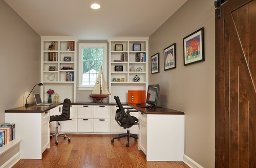 Built In Study Furniture Inside Most Up To Date Is The Desk And The Accompanying Shelves Custom Built Or Purchased? If (View 1 of 15)