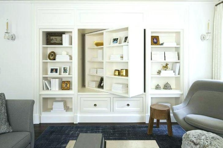 Built In Tv Bookcases Regarding Well Known Tv Bookcases Wall Units Stunning Built In Bookcase Built In (View 5 of 15)