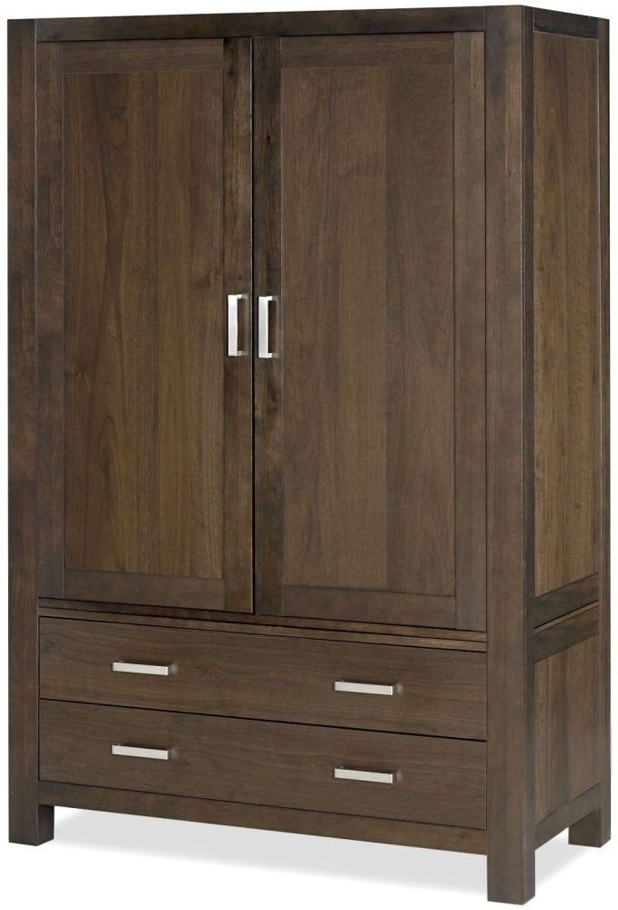 Featured Photo of Dark Wood Wardrobes