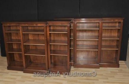 Canonbury Antiques – Breakfront Bookcases Throughout Current Breakfront Bookcases (View 12 of 15)