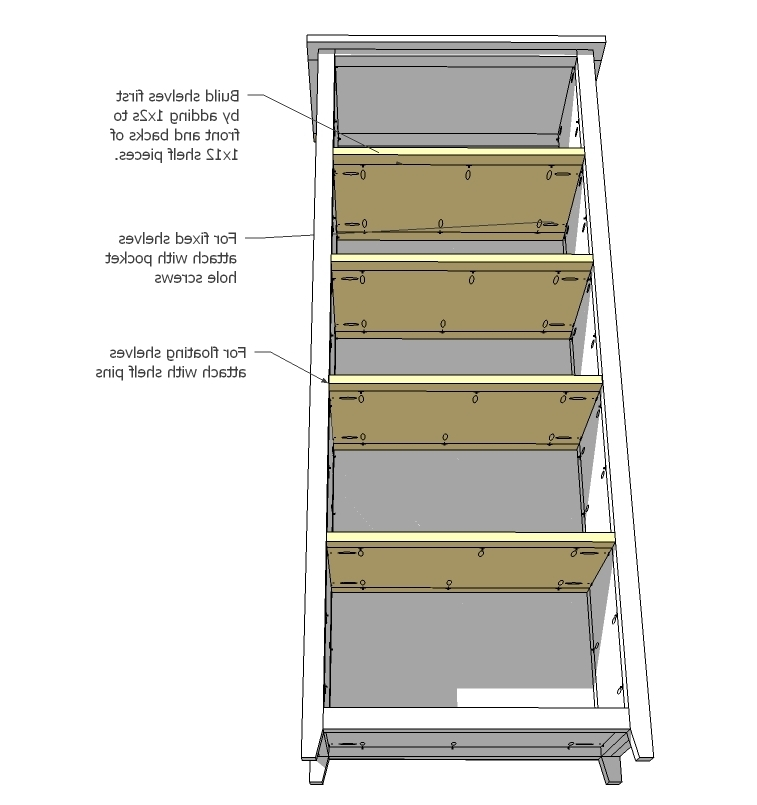 Channing Bookcase – Diy Projects (View 6 of 15)