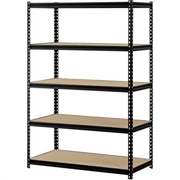 Cheap Shelving Units Inside Most Up To Date Amazon: Heavy Duty Garage Shelf Steel Metal Storage 5 Level (View 3 of 15)