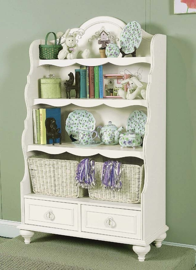 Childrens Bookcases Pertaining To Best And Newest Legacy Classic Kids Enchantment Kids Bookcase With Baskets 485 (View 11 of 15)