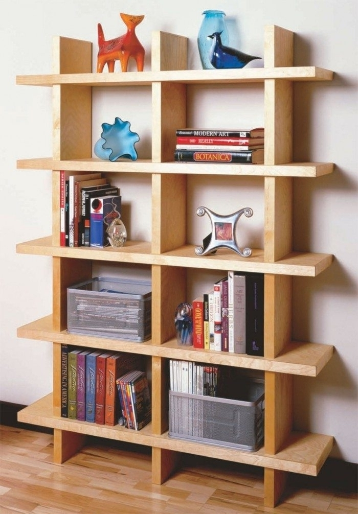 Choosing The Best Wooden Bookshelves Wearefound Home Design (View 5 of 15)