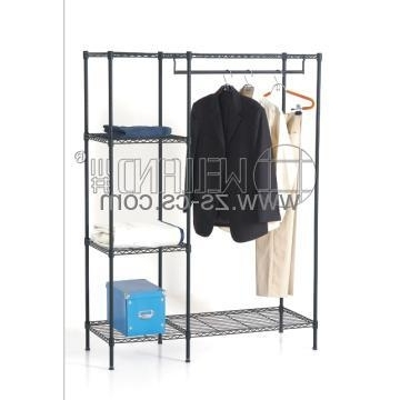 Cj B1125, China Metal Wardrobe Shelf Manufacturer & Supplier Inside Favorite Metal Wardrobes (View 2 of 15)