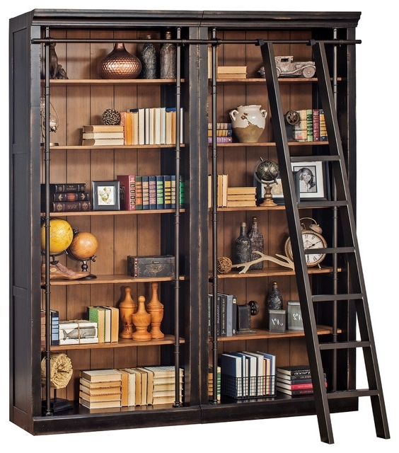 Classic Bookshelves In Well Known Martin Home Furnishings – Toulouse Metal Ladder – View In Your (View 5 of 15)