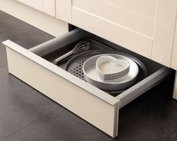 Clever Kitchen Storage Solutions Intended For Most Recent Plinth Drawers (View 6 of 15)