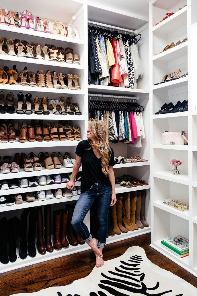 Closet Storage : Shoe Storage Ideas For Small Closets Small In Current Wardrobes Shoe Storages (View 3 of 15)