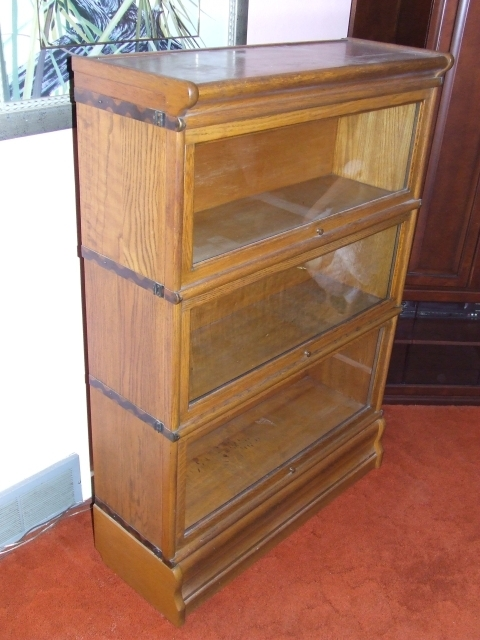 Collectibles General (antiques): Macey Barrister Bookcase, Globe With Regard To Popular Lawyers Bookcases (View 15 of 15)