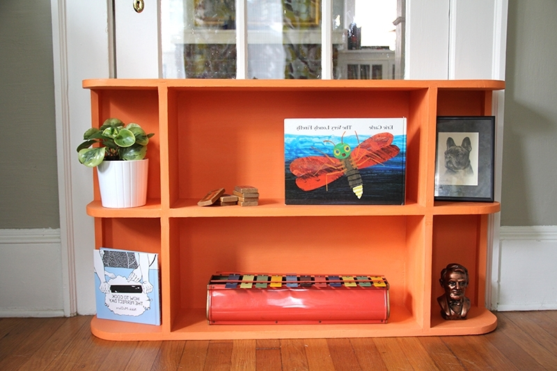 Colored Bookcases Inside Popular Bookshelf: Marvellous Colored Bookcase Oak Colored Bookcases (View 5 of 15)