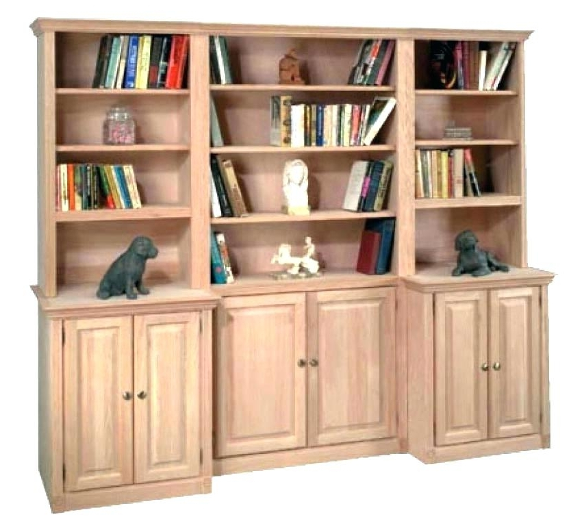 Contemporary Unfinished Bookcases With Regard To Pine Furniture Regarding Well Known Unfinished Bookcases (View 3 of 15)