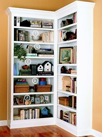 Corner Bookcases With Regard To Most Recently Released Latest Corner Bookcase Ideas 17 Best Ideas About Corner (View 8 of 15)