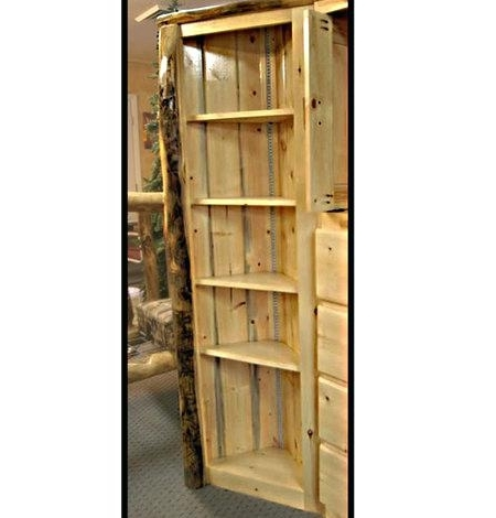 Corner Oak Bookcases Inside Well Liked Bookcase ~ Rustic Oak Corner Bookcase Diy Classic Built In Corner (View 5 of 15)
