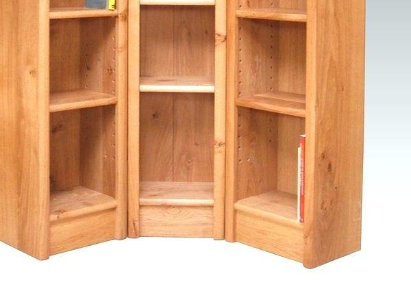 Corner Oak Bookcases With Regard To 2017 Corner Bookcases For Sale – Ellenberkovitch (View 7 of 15)
