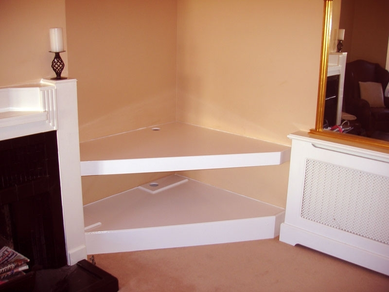 Corner Tv Stand Yes We Need A Custom Built In Corner Tv Stand For Latest Tv Corner Shelf Unit (View 11 of 15)